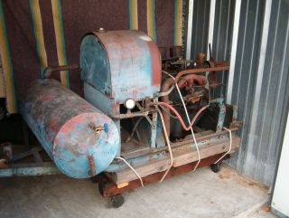 Gordon Smith Air Compressor Conversation for Model A Ford Engine