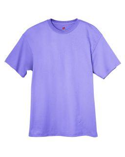Hanes T Shirt Tee Mens Short Sleeve 6 oz Tagless Basic 5250T Size
