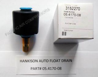 Hankison Air Dryer Replacement Automatic Float Drain Part 05 4170 08