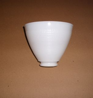 Milk Glass Lamp Shade Vintage