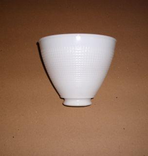 Milk Glass Lamp Shade Vintage