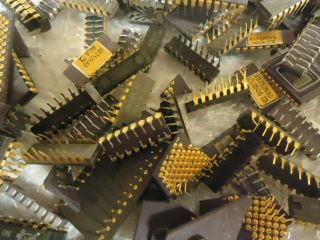 lb 522 grams Ceramic CPUs Ceramic Chips Gold Fingers Gold Recovery