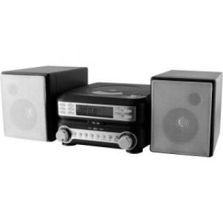 GPX HC221B Compact CD Player Stereo Home Music System with Am FM Tuner