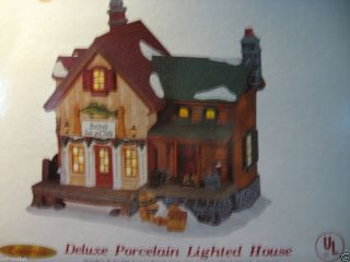 HARBORSIDE VILLAGE COLLECTABLE LIGHTED HOUSE
