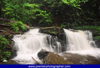 Waterfall Rickets Glenn Picture 16x20 Fine Art Home Wall Decor Signed