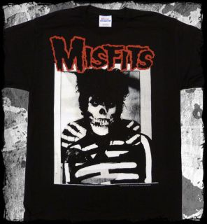 Misfits Glenn Danzig Ghost T Shirt Official Fast SHIP