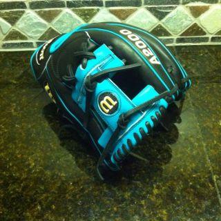 Wilson A2000 H2R 1787 11 75 Hanley Ramirez Pro Stock Baseball Glove