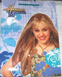 HANNAH MONTANA 6 PIECES BAG BOOKS PENCILS STICKERS LOCKER BOX