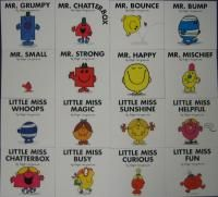 Lot 16 Mr. Men/Little Miss Series Hargreaves kids 2 Box Sets Marvelous