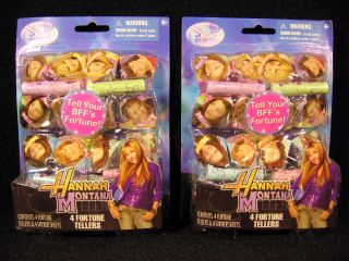 Theme Hannah Montana 8 Fortune Tellers with stickers by Hallmark