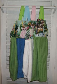 Glinda Dorothy Munchkins Wizard of oz Hanging Kitchen Handtowel Velcro