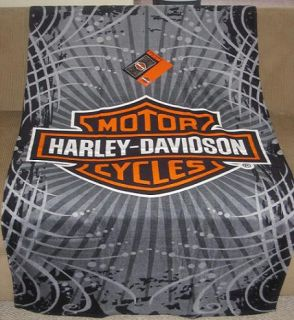 New Vibe Harley Davidson Logo Shield Motorcycle Bath Beach Pool Gift