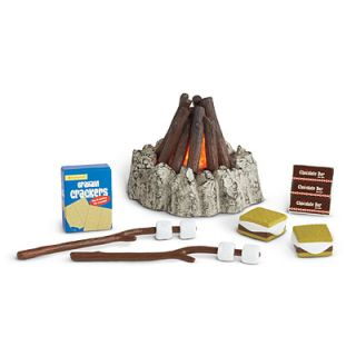 NEW NIB American Girl Campfire Treats Set Camping Camp Smores Fire