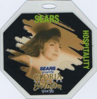 Gloria Estefan 1996 Laminated Backstage Pass
