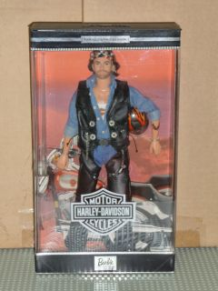 Harley Davidson Collector Edition Barbie Ken 2 w Certificate