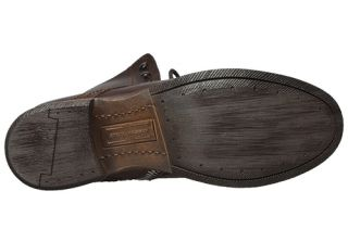 Steve Madden Mens Boots Gramm Dark Brown Leather Sz 8 M