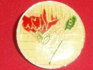 Pink Floyd The Wall Vtg Tour Hat Pin Badge Enamel Metal