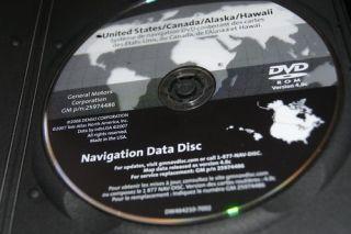 GM Navigation Disc DVD Version GM 4 0C 25974486