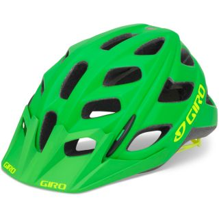 2013 Giro Hex MTB XC Bike Helmet Matt Kelly Green Highlight Yellow