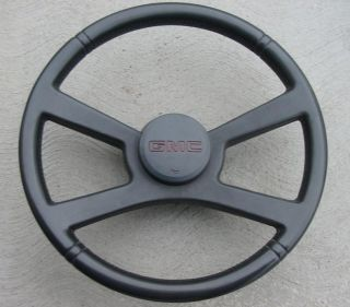 Chevy Truck Steering Wheel GMC Jimmy Yukon Sierra Sport Deluxe Notched