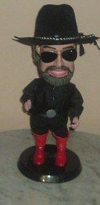 Hank Williams Jr Bocephus Collectors Edition Dancing Singing Doll 21