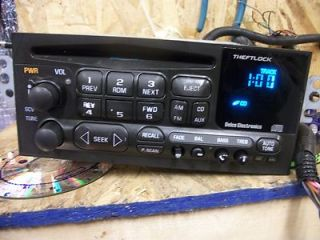 Stereo Radio Chevy GMC Blazer S10 Jimmy S15 1998 Opt UPO