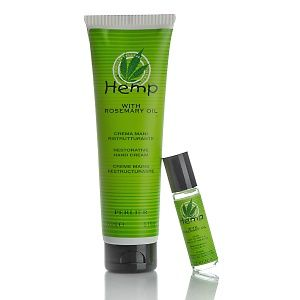 perlier hemp with rosemary oil hand care kit