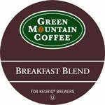 24 Keurig K Cups Green Mountain Coffee Breakfast Blend