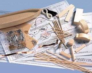 Model Shipways Harriet Lane Big Shipmodelers Tool Set Wood Kit SHIP