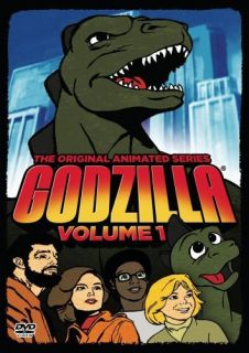 Godzilla The Original Animated Series Volume 1 New SEALED DVD