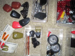 1993 Steel Tec Harley Davidson Model Motorcycle Parts Pcs Lot