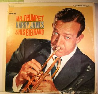 Mr Trumpet Harry James His Big Band LP Record
