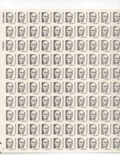 Harry s Truman Sheet of 100 x 20 Cent US Postage Stamps New Scot 1862