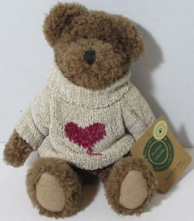 Boyds Bears Hartley B Mine Investment Collectibles Stuffed Plush Teddy