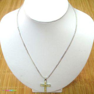 22cm Cute Honey Citrine Silver 18K White Gold Modish Jewelry