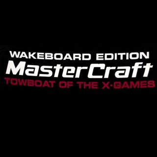Mastercraft 758162 Wakeboard x Games Edition Boat Decal
