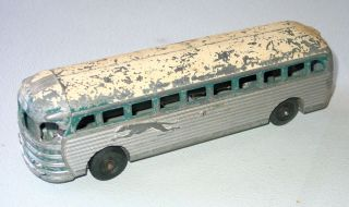 Vintage Cast Aluminum Toy Greyhound Bus