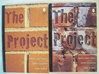 THE PROJECT VOLUMES 1 & 2 GRAPHIC SHORT STORIES JOHN FIGUEROA & KIRK