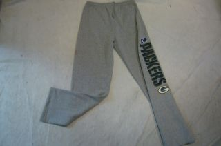 333 100 Licensed NFL Apparel Green Bay Packers Sweatpants Jersey Pants