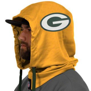Green Bay Packers Yellow New Era Over The Top Hood