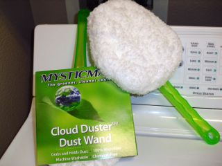 Cloud Duster Small Dust Wand 100 Microfiber Green Eco Friendly