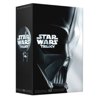 Star Wars Trilogy DVD Box Set Mark Hamill Harrison Ford