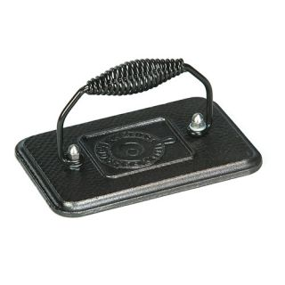 Rectangular Grill Press Cookware Cast Iron Press Brand New