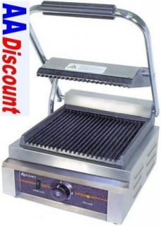 New Panini Sandwich Grill Press by Adcraft SG 811