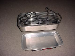 Smokeless Indoor Grill Parts Base Heating Element Cord Tray Grill Top