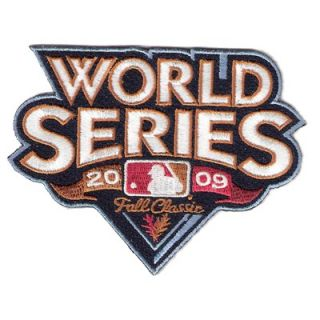 National Emblem MLB World Series Logo Patch   PATCHBBWS00