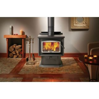 1100 Wood Stove (2009) with Pedestal with Ash Pan 1000, 1100 (2009