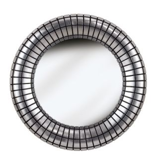 Kenroy Home Inga Wall Mirror in Silver Plate