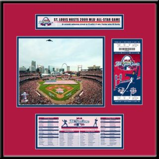 Thats My Ticket MLB 2009 All Star Game Ticket Frame Jr.   St. Louis
