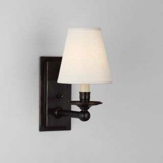 TransGlobe Lighting One Light Wall Sconce with Opal Shade   3651 BN
